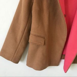 Boden Jackets & Coats - Boden Camel Coat With Pink Lining